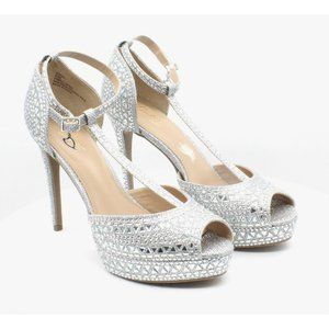 Thalia Sodi Chace T-Strap Platform Heels